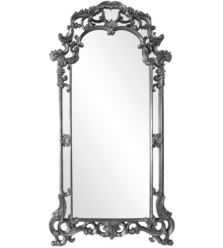 Howard Elliott Collection 92024CH Imperial 85 X 44 inch Charcoal Gray Wall Mirror, Rectangle photo