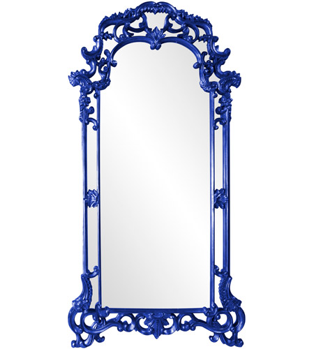Howard Elliott Collection 92024RB Imperial 85 X 44 inch Royal Blue Wall Mirror, Rectangle photo