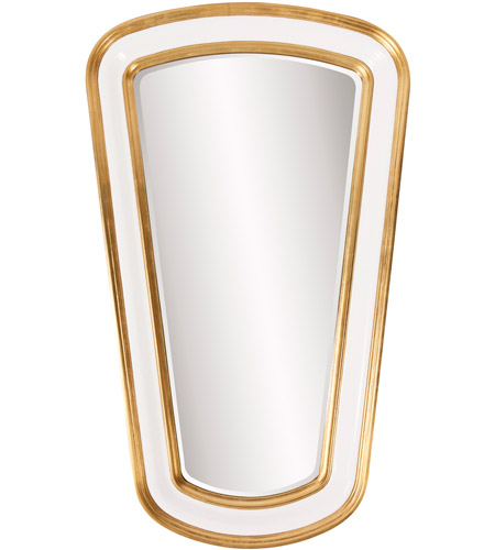 Howard Elliott Collection 92156 Darius 60 X 36 inch Gold Leaf Wall Mirror, Rectangle photo