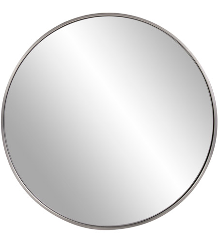 Howard Elliott Collection 94012 Copenhagen 30 X 30 inch Brushed Silver Wall Mirror photo
