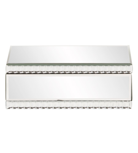 Howard Elliott Collection 99174 Carter 11 inch Mirrored Decorative Box photo