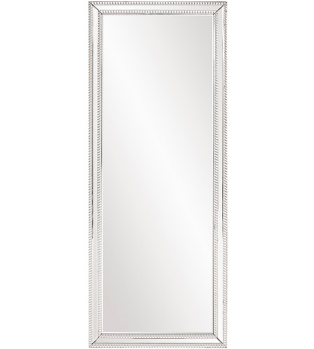 Howard Elliott Collection 99181 Gemma 63 X 23 inch Beaded Glass Trim Wall Mirror photo