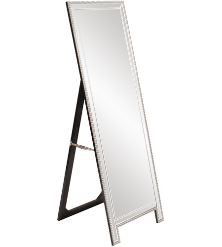 Howard Elliott Collection 99184 Micah 63 X 21 inch Floor Mirror, Rectangle, Beaded Glass Trim photo
