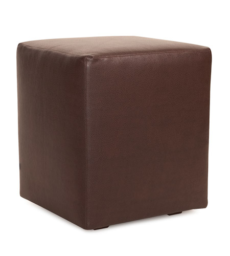 Howard Elliott Collection C128-192 Avanti Deep Brown Cube Cover, Universal Cube photo