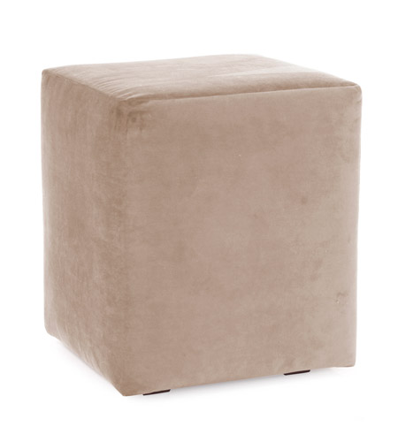 Howard Elliott Collection C128-224 Bella Bold Neutral Sand Cube Cover, Universal Cube photo