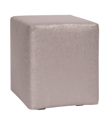 Howard Elliott Collection C128-237 Glam Gray Cube Cover, Universal Cube photo