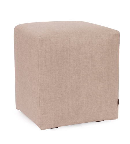Howard Elliott Collection C128-610 Prairie Natural Linen Cube Cover, Universal Cube photo