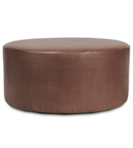 Howard Elliott Collection C132-192 Avanti 18 inch Deep Brown Ottoman Cover photo