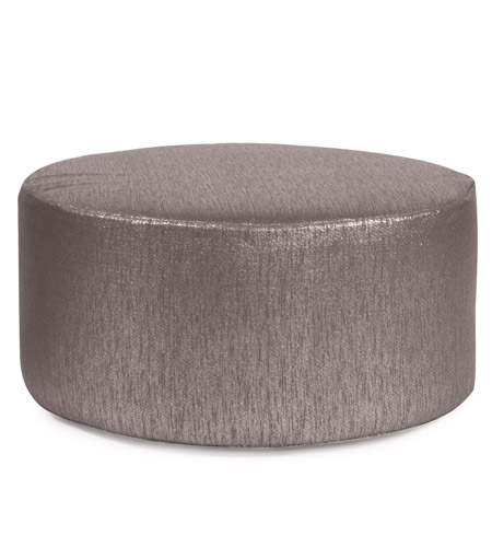 Howard Elliott Collection C132-236 Glam 18 inch Graphite Ottoman Cover photo