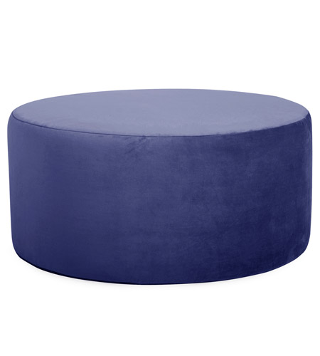 Howard Elliott Collection C132-972 Bella 18 inch Bold Royal Blue Ottoman Cover photo