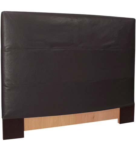 Howard Elliott Collection K124-194 Avanti Rich Black King Slipcovered Headboard photo