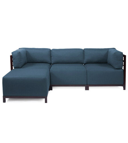 Howard Elliott Collection K924M-230 Axis Indigo Blue Sofa photo