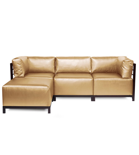 Howard Elliott Collection K924M-880 Axis Gold Sofa photo