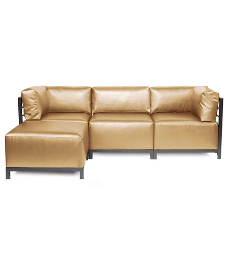 Howard Elliott Collection K924T-880 Axis Gold Sofa photo