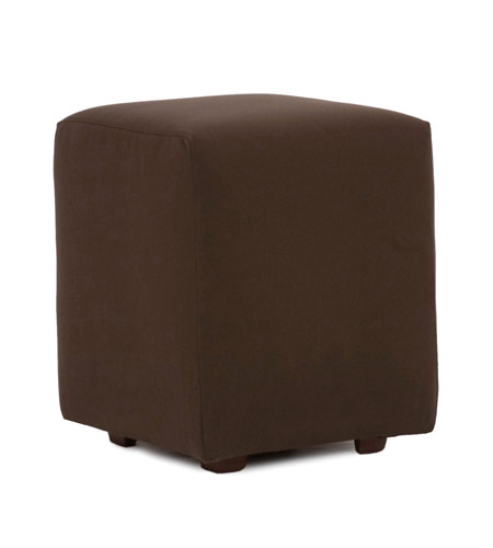 Howard Elliott Collection Q128-462 Seascape 20 inch Chocolate Brown Outdoor Ottoman photo