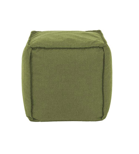 Howard Elliott Collection Q873-299 Pouf 18 inch Green Outdoor Ottoman photo
