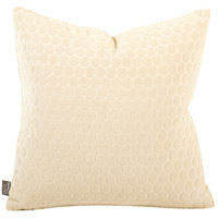 Square 16 inch Neutral Sand Pillow