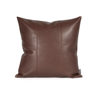 Howard Elliott Collection 1-192 Avanti 16 X 6 inch Deep Brown Pillow, Square