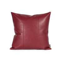 Signature 16 X 6 inch Deep Red Pillow, Square