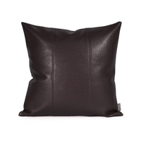 Howard Elliott Collection 1-194 Avanti 16 X 6 inch Black Pillow, Square