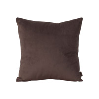 Howard Elliott Collection 1-220F Bella 16 X 6 inch Rich Brown Pillow, Square photo thumbnail