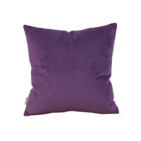 Howard Elliott Collection 1-223 Bella 16 X 6 inch Eggplant Purple Pillow, Square