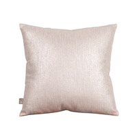 Howard Elliott Collection 1-239F Glam 16 X 6 inch Metallic Silver Pillow, Square photo thumbnail
