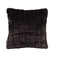 Howard Elliott Collection 1-286 Mink 16 X 6 inch Black Pillow, Square photo thumbnail