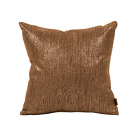 Howard Elliott Collection 1-293 Glam 16 X 6 inch Dark Chocolate Pillow, Square photo thumbnail