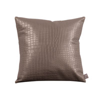 Howard Elliott Collection 1-470 Gator 16 X 6 inch Pewter Pillow, Square photo thumbnail
