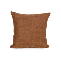 Howard Elliott Collection 1-886F Coco 16 X 6 inch Terra Cotta Pillow, Square photo thumbnail