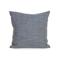 Howard Elliott Collection 1-889 Coco 16 X 6 inch Sapphire Blue Pillow, Square photo thumbnail