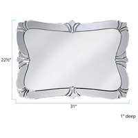 Howard Elliott Collection 11009 Messina 31 X 22 inch Wall Mirror, Rectangle alternative photo thumbnail