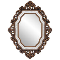 Howard Elliott Collection 11059 Ariana 40 X 31 inch Antique Gold Wall Mirror, Oval photo thumbnail