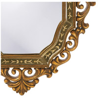 Howard Elliott Collection 11059 Ariana 40 X 31 inch Antique Gold Wall Mirror, Oval alternative photo thumbnail