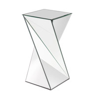 Howard Elliott Collection 11093 Aries 27 X 13 inch End Table, Mirrored