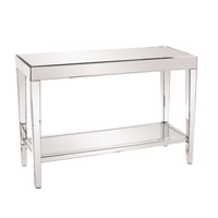 Howard Elliott Collection 11096 Orion 44 X 44 inch Mirrored Console Table Home Decor, With Shelf photo thumbnail