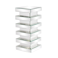 Howard Elliott Collection 11097 Stepped 28 X 12 inch Mirrored Pedestal, Medium