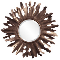 Howard Elliott Collection 11169 Compass 47 X 32 inch Aged Gold Wall Mirror, Round photo thumbnail