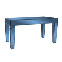 Howard Elliott Collection 11175 Dorset 36 X 20 inch Cobalt Blue Coffee Table Home Decor
