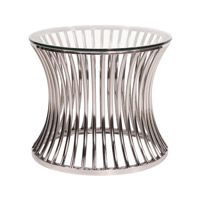 Signature Stainless Steel Side Table Home Decor