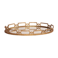 Howard Elliott Collection 11222 Signature Gold Tray