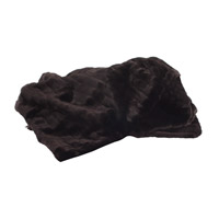 Howard Elliott Collection 115-286 Mink 77 X 55 inch Black Throw Blanket photo thumbnail
