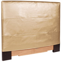 Twin Luxe Gold Headboard Slipcover