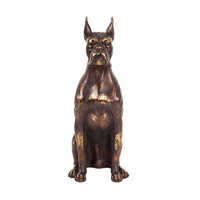 Howard Elliott Collection 12217 Guard Dog Bronze Statue photo thumbnail