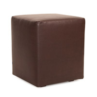 Howard Elliott Collection 128-192 Avanti 20 inch Deep Brown Ottoman photo thumbnail
