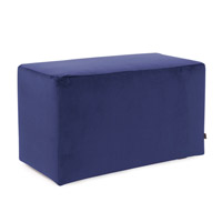 Howard Elliott Collection 130-972 Bella 20 inch Bold Royal Blue Ottoman photo thumbnail