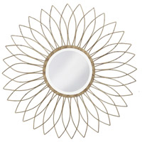 Howard Elliott Collection 1376-S Charlese 38 X 38 inch Antique Brushed Silver Wall Mirror, Round photo thumbnail