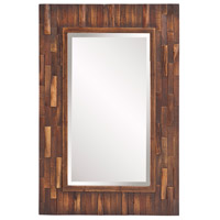 Howard Elliott Collection 14259 Forrest 36 X 24 inch Distressed Brown Wall Mirror photo thumbnail