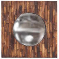 Howard Elliott Collection 14260 Forrest 36 X 24 inch Distressed Brown Wall Mirror photo thumbnail